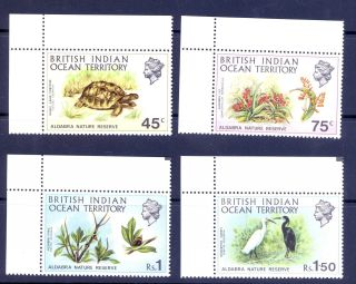 British Indian Ocean Territory Sg 36 - 9 Aldabra Nature Reserve photo