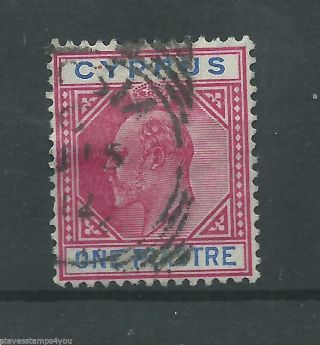 Cyprus - 1903 - Sg52 - Cv £ 4.  75 - photo