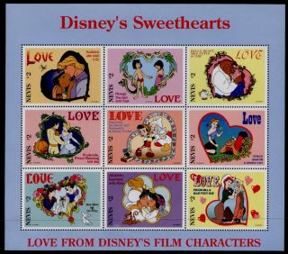 Nevis 975 - 8 Disney Sweethearts photo