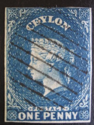 Ceylon - Scott 3 - Imperf - - Cat Val $42.  50 photo