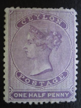 Ceylon - Scott 45 - Uncancelled/no Gum - Cat Val $65.  00 photo