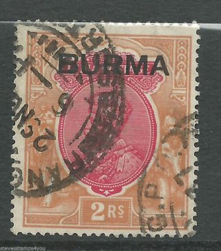Burma - 1937 - Sg14 - Cv £ 25.  00 - photo