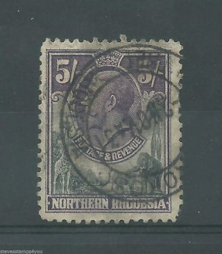 Northern Rhodesia - 1925 To 1929 - Sg14 - Cv £ 19.  00 - photo