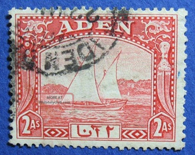 1937 Aden 2a Scott 4 S.  G.  4   Cs04193 British Colonies & Territories photo