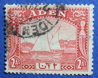 1937 Aden 2a Scott 4 S.  G.  4   Cs04193 photo
