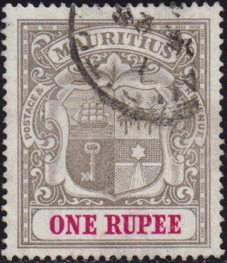 Mauritius 1902 1r Sg 153 photo