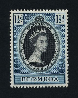 Bermuda 142 - Queen Elizabeth Coronation photo
