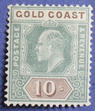 1902 Gold Coast 10s Scott 47 S.  G.  47 Cs01324 photo