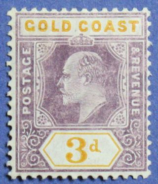 1906 Gold Coast 3d Scott 53a S.  G.  53a Cs01336 photo