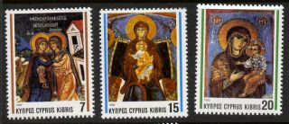 Cyprus 807 - 9 Christmas,  Art photo