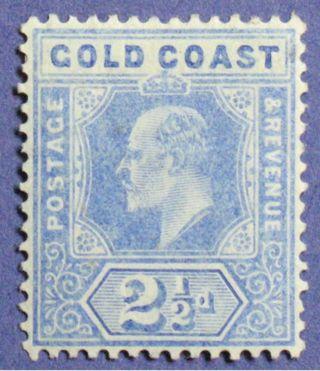 1906 Gold Coast 2 1/2d Scott 59 S.  G.  62 Cs01349 photo