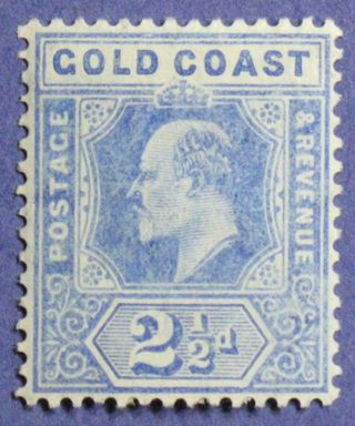 1906 Gold Coast 2 1/2d Scott 59 S.  G.  62 Cs01350 photo