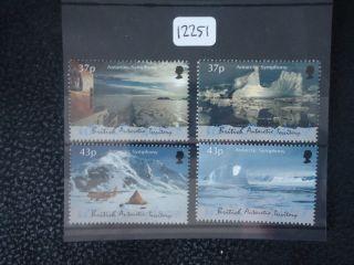 British Antarctic Territory 2000 Symphony 4v photo