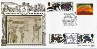 6 April 1997 1000 Days Battle Of Hastings Benham Gold Limited Edition Cover Shs photo