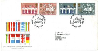 15 May 1984 Europa Royal Mal First Day Cover London Sw Shs photo
