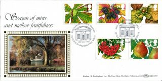 14 September 1993 Autumn Benham Blcs 87b First Day Cover Stourhead House Shs photo