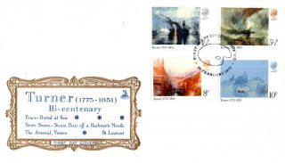 19 February 1975 Turner British Paintings Mercury First Day Cover London Wc Shs photo