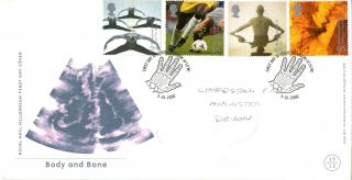 3 October 2000 Body And Bone Royal Mail First Day Cover Glasgow Shs photo