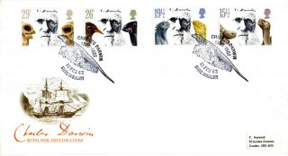 10 February 1982 Charles Darwin Royal Mail First Day Cover Better Shrewsbury Shs photo