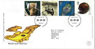 5 September 2000 Mind & Matter Royal Mail First Day Cover Shs photo