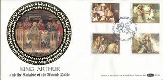 3 September 1985 Arthurian Legend Benham Blcs 6 First Day Cover Winchester Shs A photo