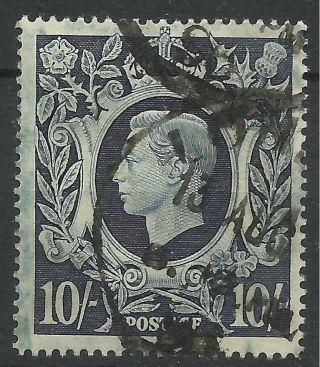 1939 - 48 Sg 478 10/ - Dark Blue,  Good. photo