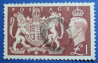 1951 Great Britain 1l Scott 289 S.  G.  512  Cs04187 photo