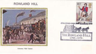 United Kingdom 11.  5p Rowland Hill 1979 Fdc / Colorano photo