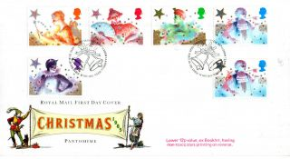 19 November 1985 Christmas + Booklet 12p Rm First Day Cover Bethlehem Shs photo