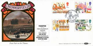 5 October 1983 British Fairs Benham Bls 6 Le First Day Cover Chipperfield Circus photo