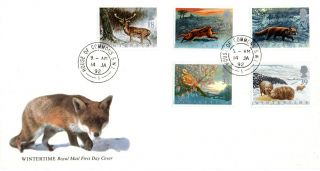 14 January 1992 Wildlife Royal Mail First Day Cover House Of Commons Sw1 Cds photo