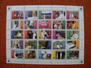 2003 25 Years Of Pope John Paul Ii Ms From Vatican photo