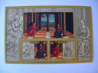 2005 Museums Miniature Sheet From Vatican photo