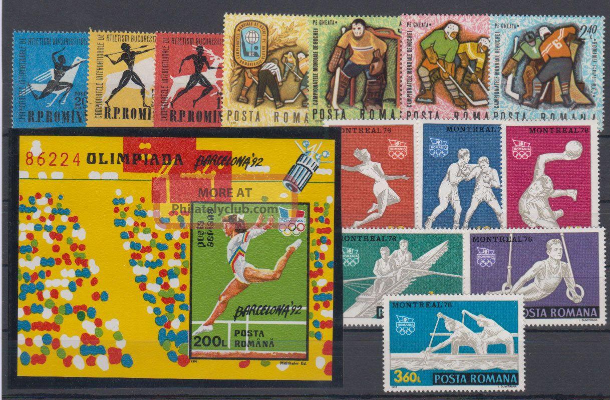 Romania Sport 1957 - 1992 Europe photo