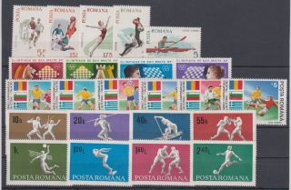 Romania Sport 1965,  1969,  1980,  1990 photo