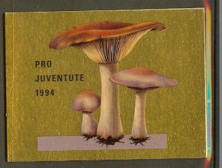 Switzerland Booklet Pro Juventute 1994 photo