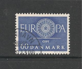 Denmark 1960 Europa Sg 429 P&p Uk photo
