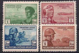 Croatia,  1943,  Wwii,  Croatian Legionnaires; Eastern Front photo