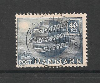 Denmark 1949 75th Anniversary Of U.  P.  U.  Sg 375 P&p Uk photo