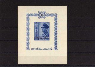 Croatia Michel N 102 Year 1943 photo