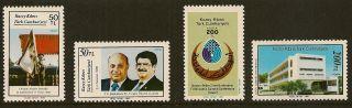 Turkish Cyprus : 1987 Anniversaries & Events Sg216 - 9 Unmounted photo