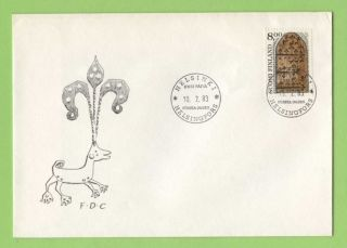 Finland 1983 Finnish Arts,  8,  00m Arsenal Door First Day Cover photo