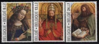 Belgium Jan Van Eyck - Paintings Mystic Lamb - 3vals - 1985 - Peintures - Agneau Divin photo