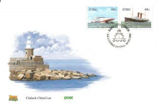 Ireland 2006 Rosslare Fishguard Ferry Boat Ship Fdc photo