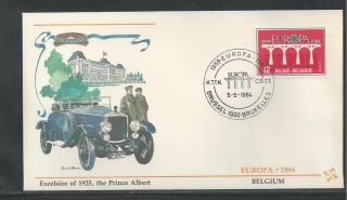 Belgium 1169 - 1170 Europa 1984 Fleetwood First Day Cover photo