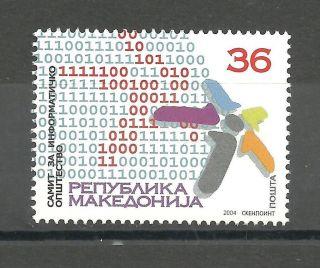 236 Macedonia 2004 Informstion Biro photo