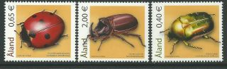 Finland Aland 2006 - Nature Fauna Animals Insects Beetles - Sc 242/4 photo