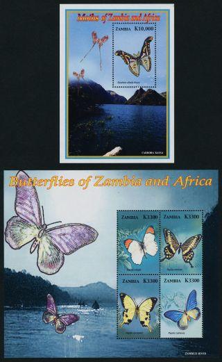 Zambia 1051 - 6 Butterflies photo