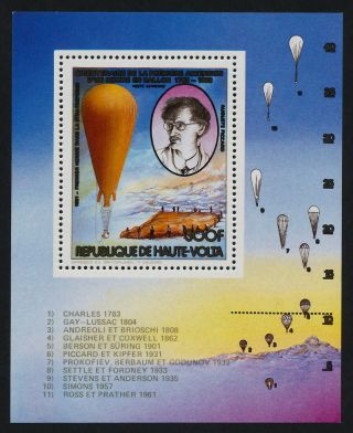 Upper Volta 623 Balloon,  August Piccard photo