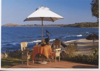 Malawi 2014 Lake Malawi Official Postcard Of A Resort photo